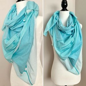 Other - Lululemon Throw Me Over Scarf Angel Blue